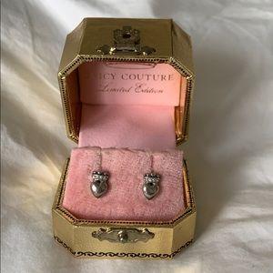 Juicy Couture Heart Crown Earrings
